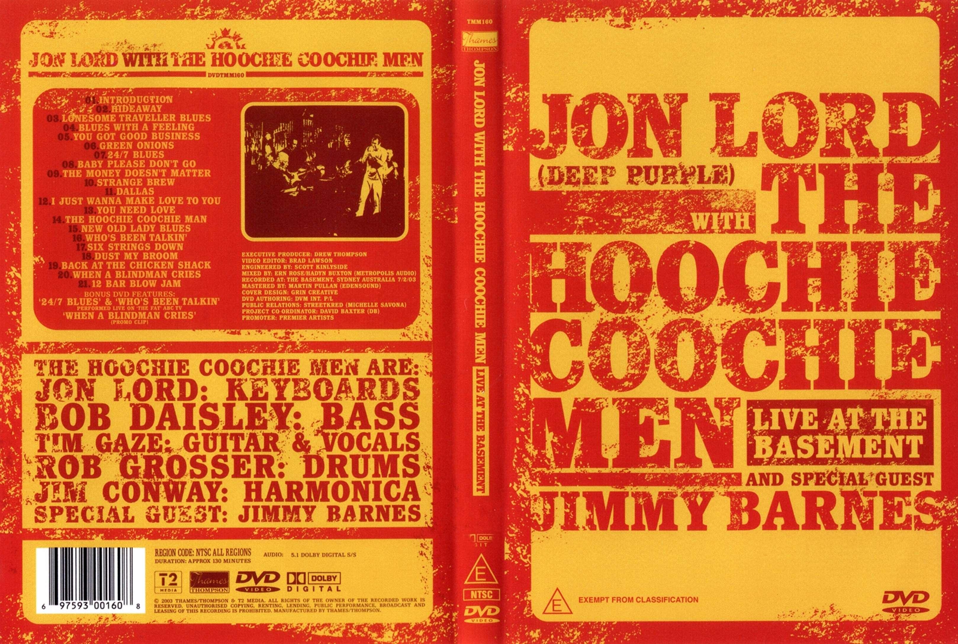 Джон Лорд и The Hoochie Coochie Man