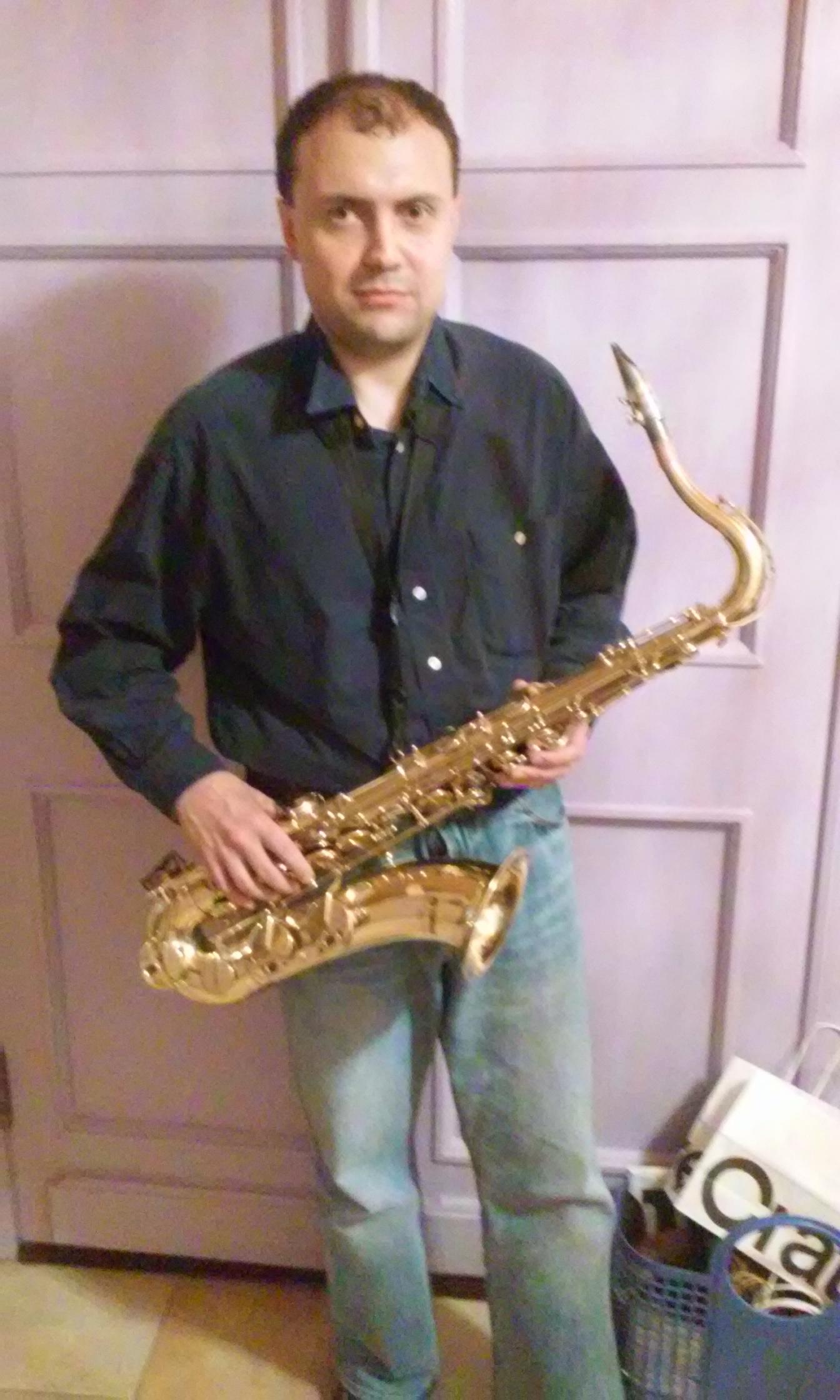 Тенор-саксофон Yamaha YTS-32